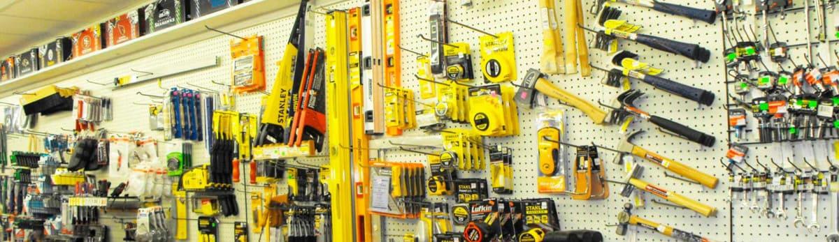 Торговое оборудование для магазина инструментов