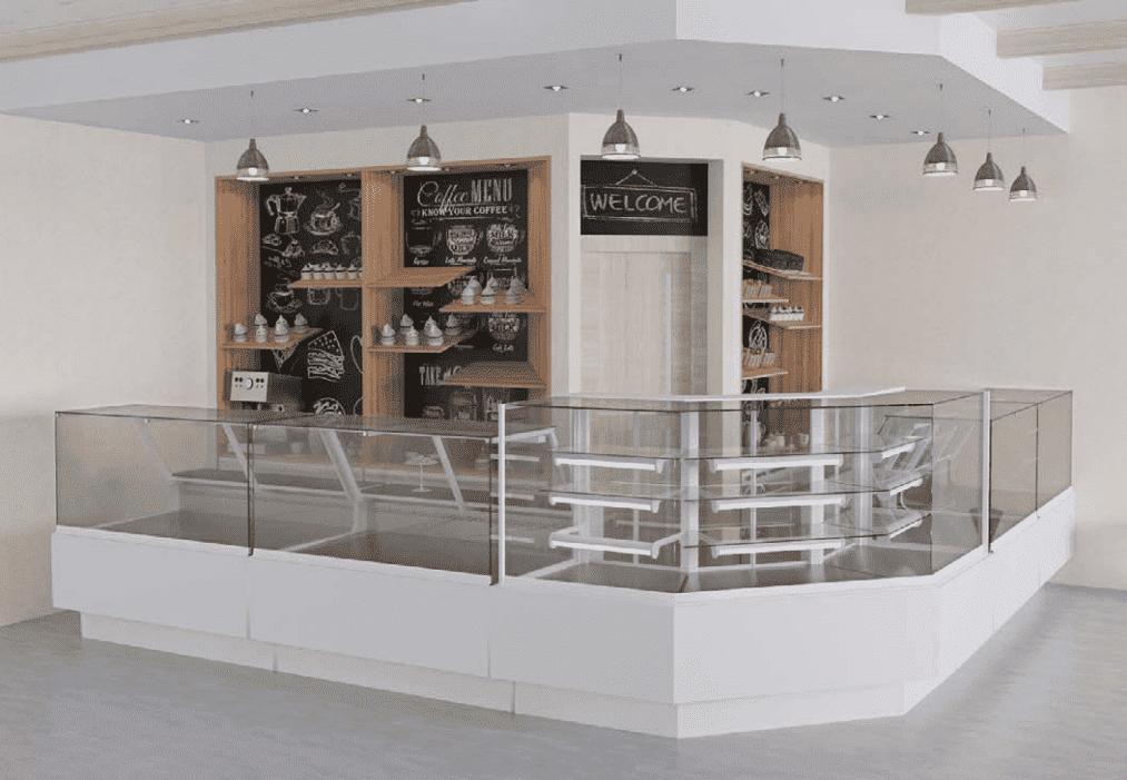 Витрины для кофейни