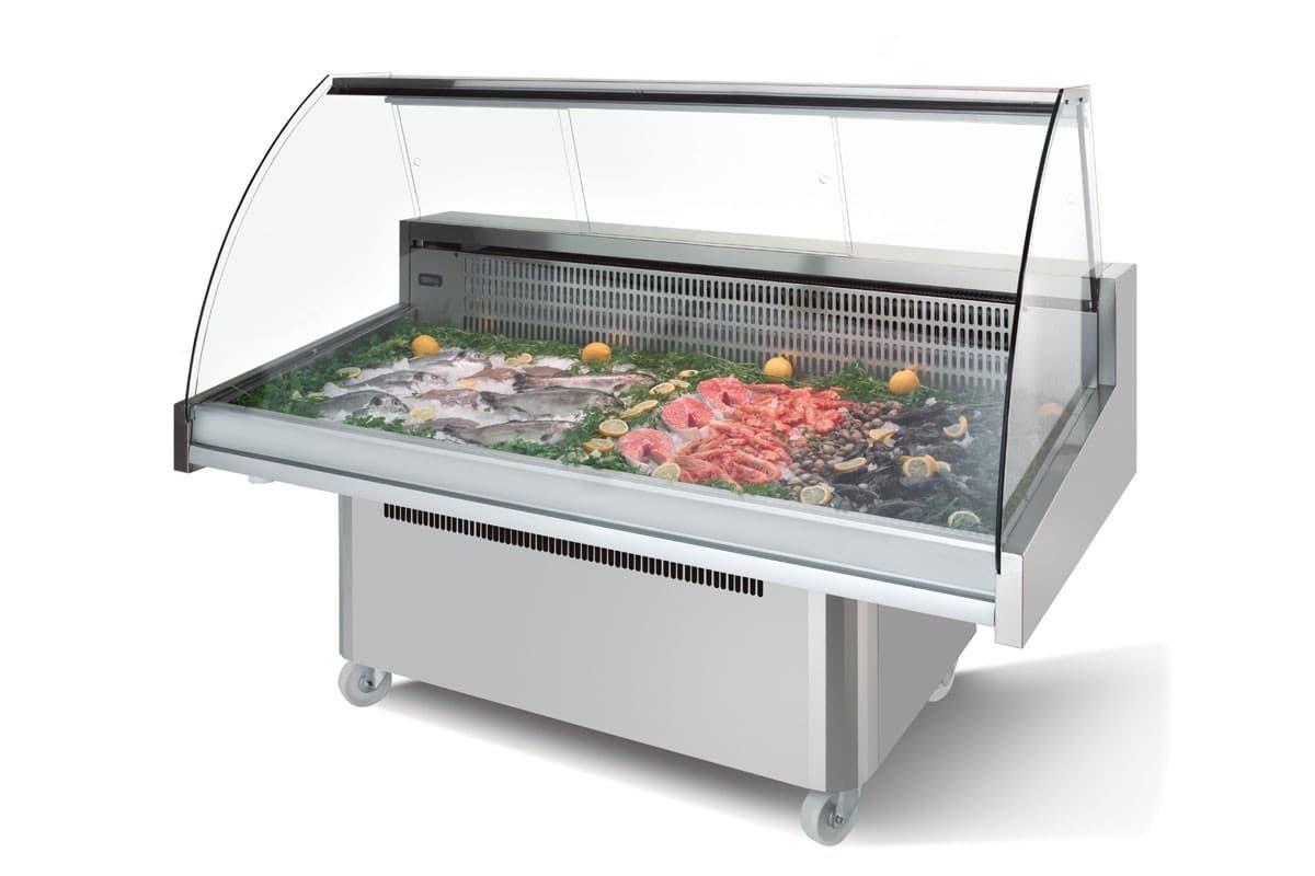 Холодильные витрины для рыбы на заказ