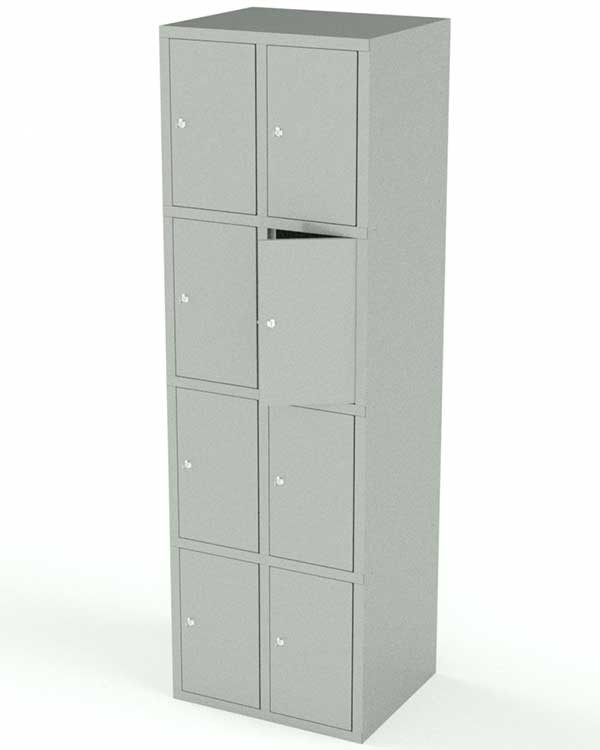 Вертикальный шкаф для сумок 8 ячеек