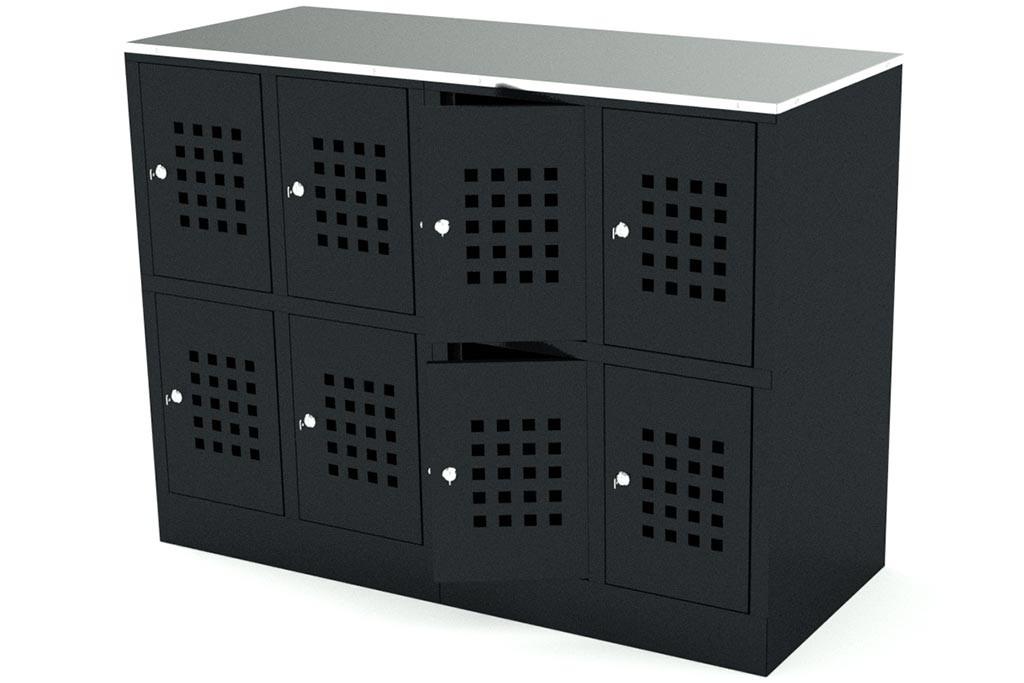 Сумочный шкаф на 8 ячеек