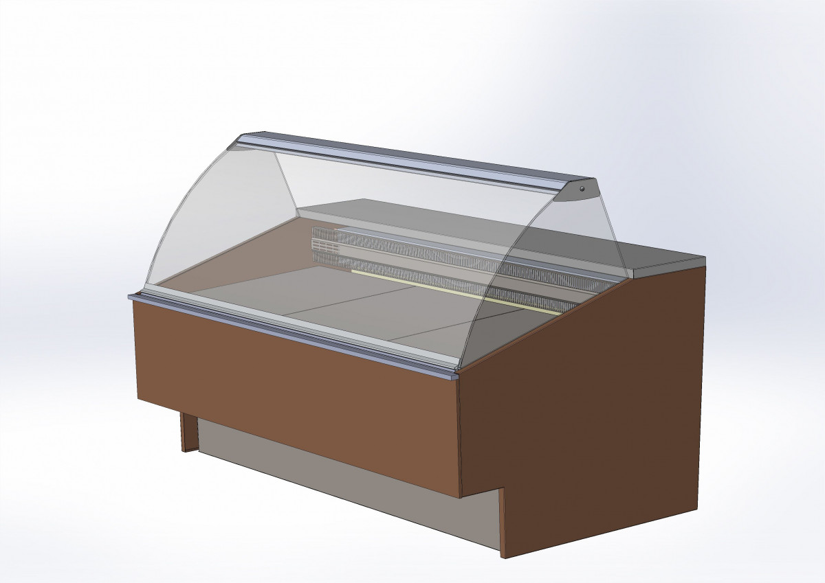 Среднетемпературная витрина BELCANTO
