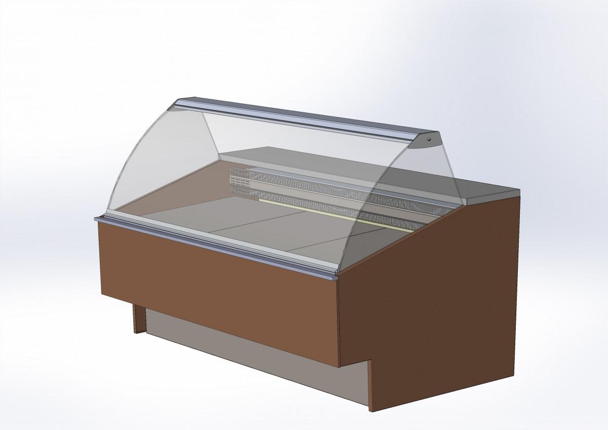 Холодильная витрина для рыбы BELCANTO