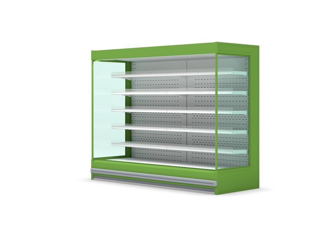 Холодильная горка с выносным охлаждением BERNINA
