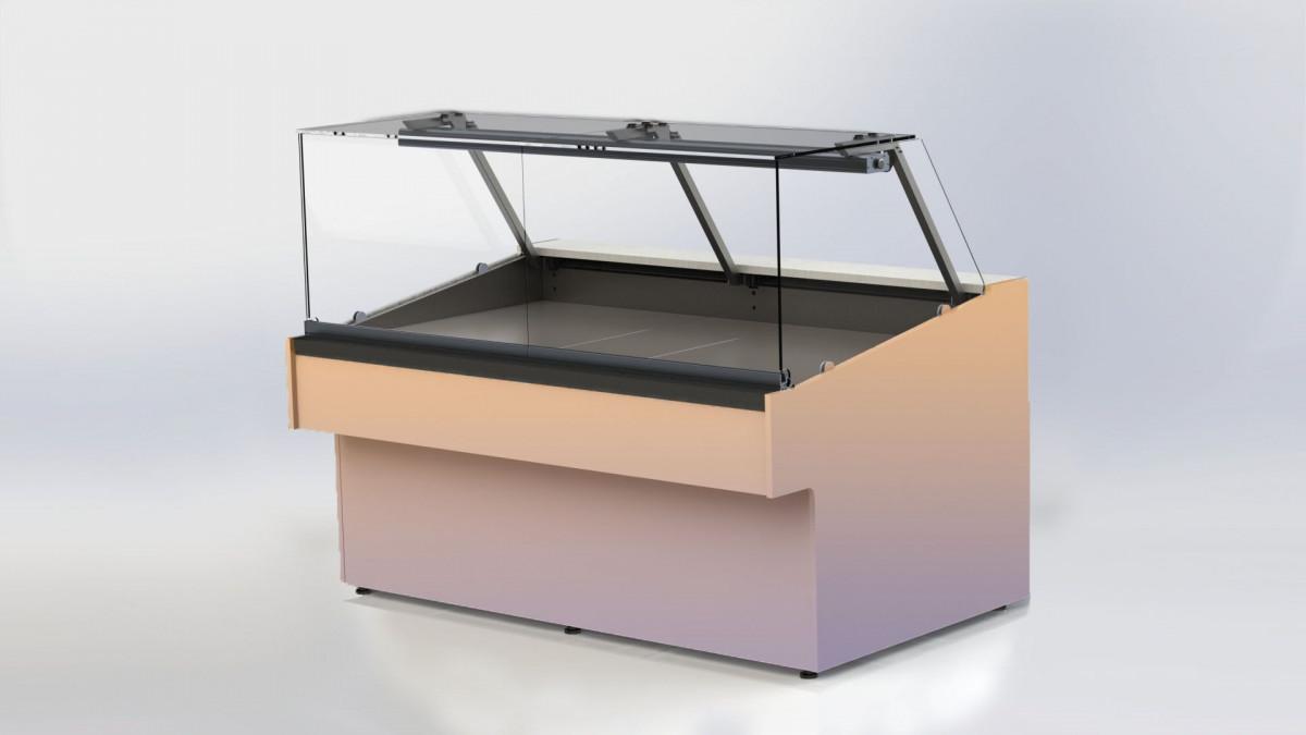 Холодильная витрина с прямым стеклом для ресторана Bistro BL