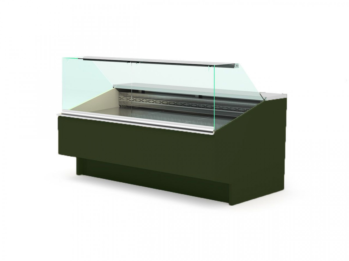 Холодильная витрина с прямым стеклом для ресторана Bistro BM