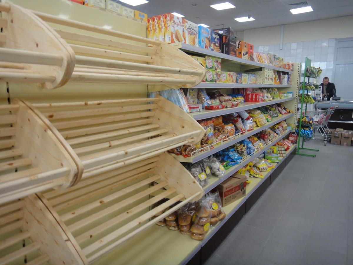 Стеллаж торговый хлебный без фриза