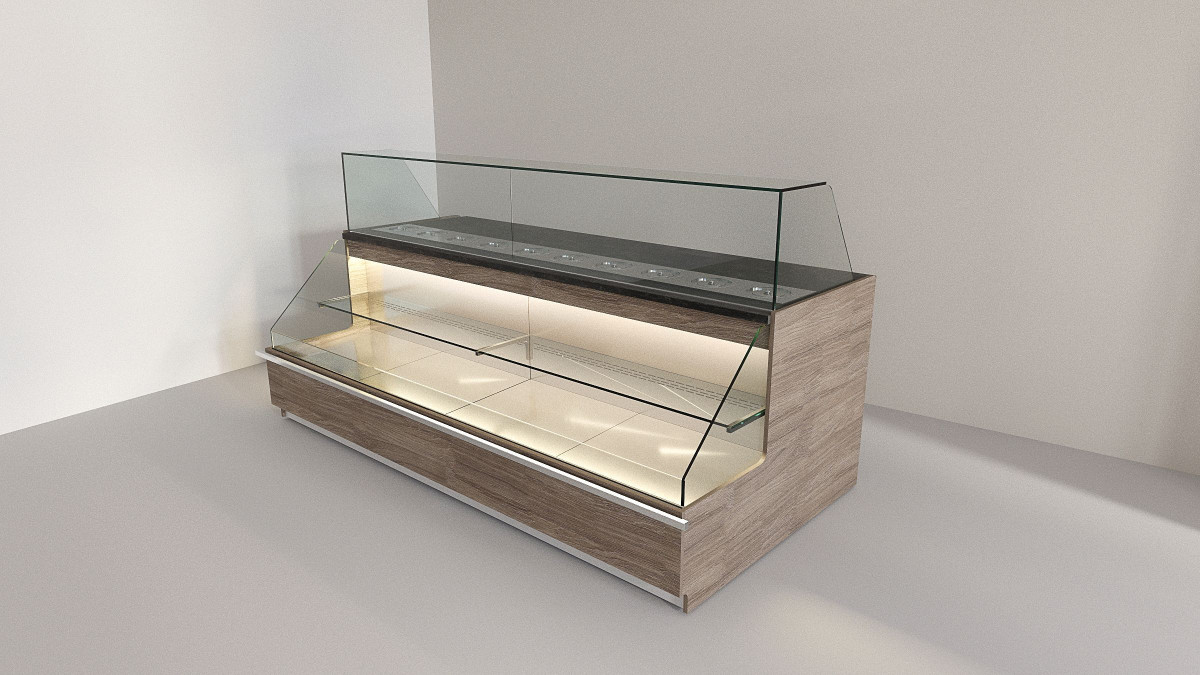 Холодильная витрина для напитков DUETTO
