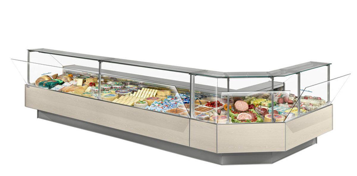 Холодильная витрина для рыбы (рыба на льду) Spring